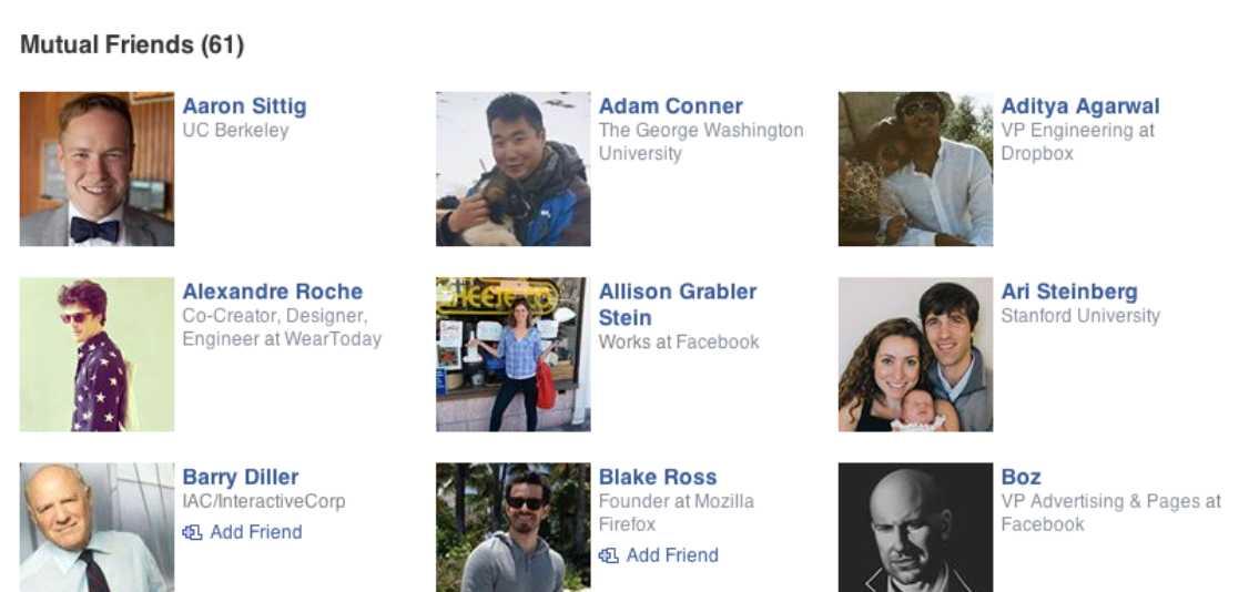 Melihat Daftar Teman di Sosial Media Nya