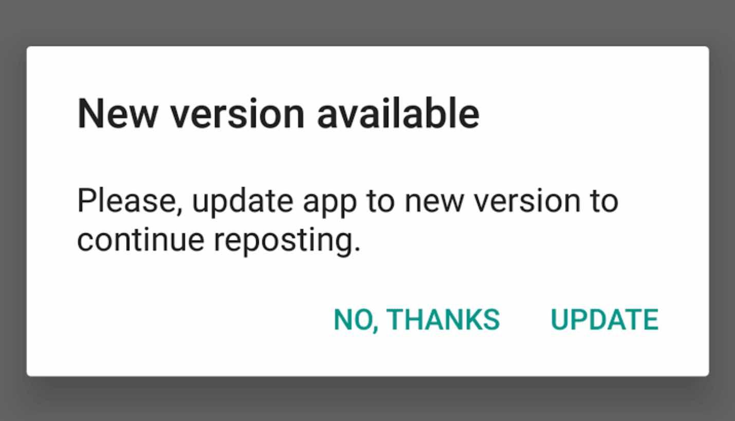 Aplikasi Tidak Di Update