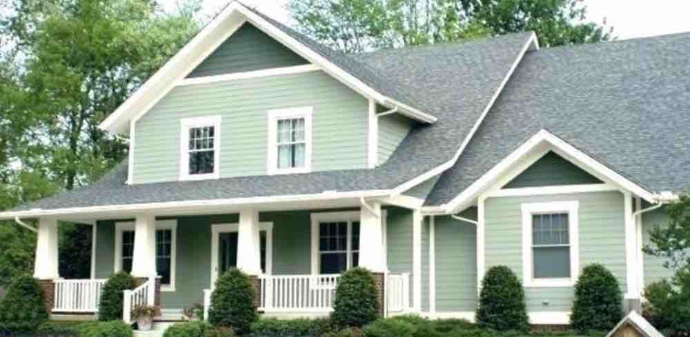 Cat Rumah Berwarna Hijau