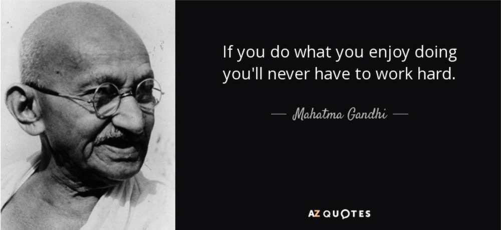 Jika Kamu Tidak Bisa Menikmati, Kamu Tidak Akan Bekerja Keras