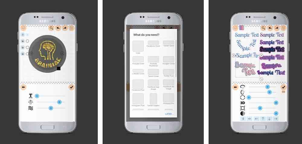 Aplikasi Untuk Membuat Logo Paling Simpel - Logo Maker Plus