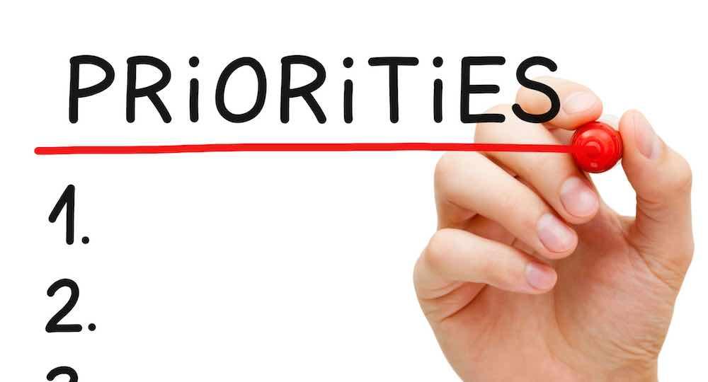 Tentukan Prioritas Dalam Hidupmu