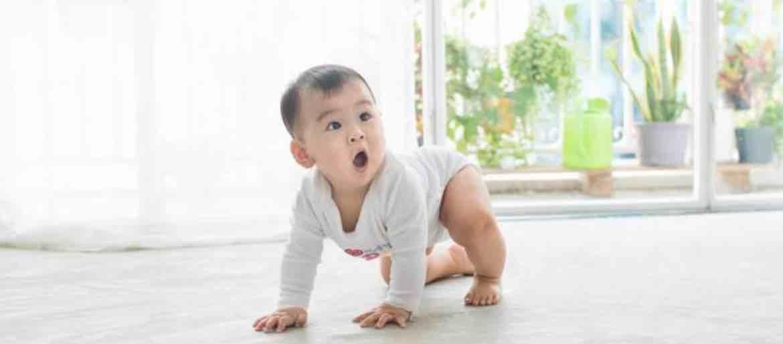 Mengajarkan Bayi Berjalan Dengan Merangkak