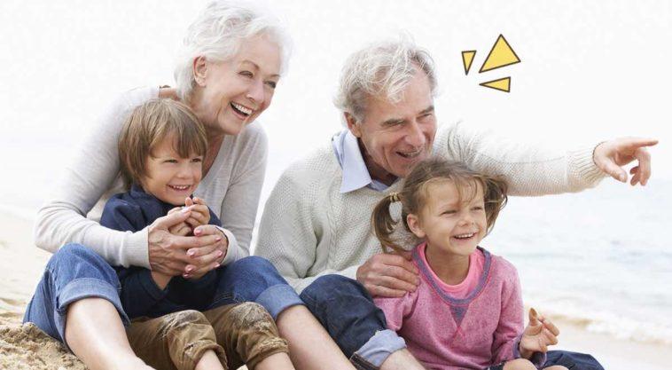 Kasih Sayang Kakek-Nenek Kepada Cucu