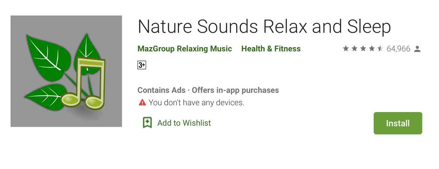Nature Sound Relax and Sleep