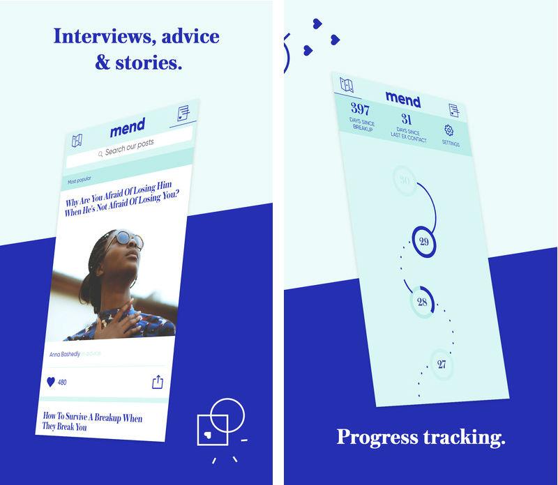 Aplikasi Mend Untuk Move On