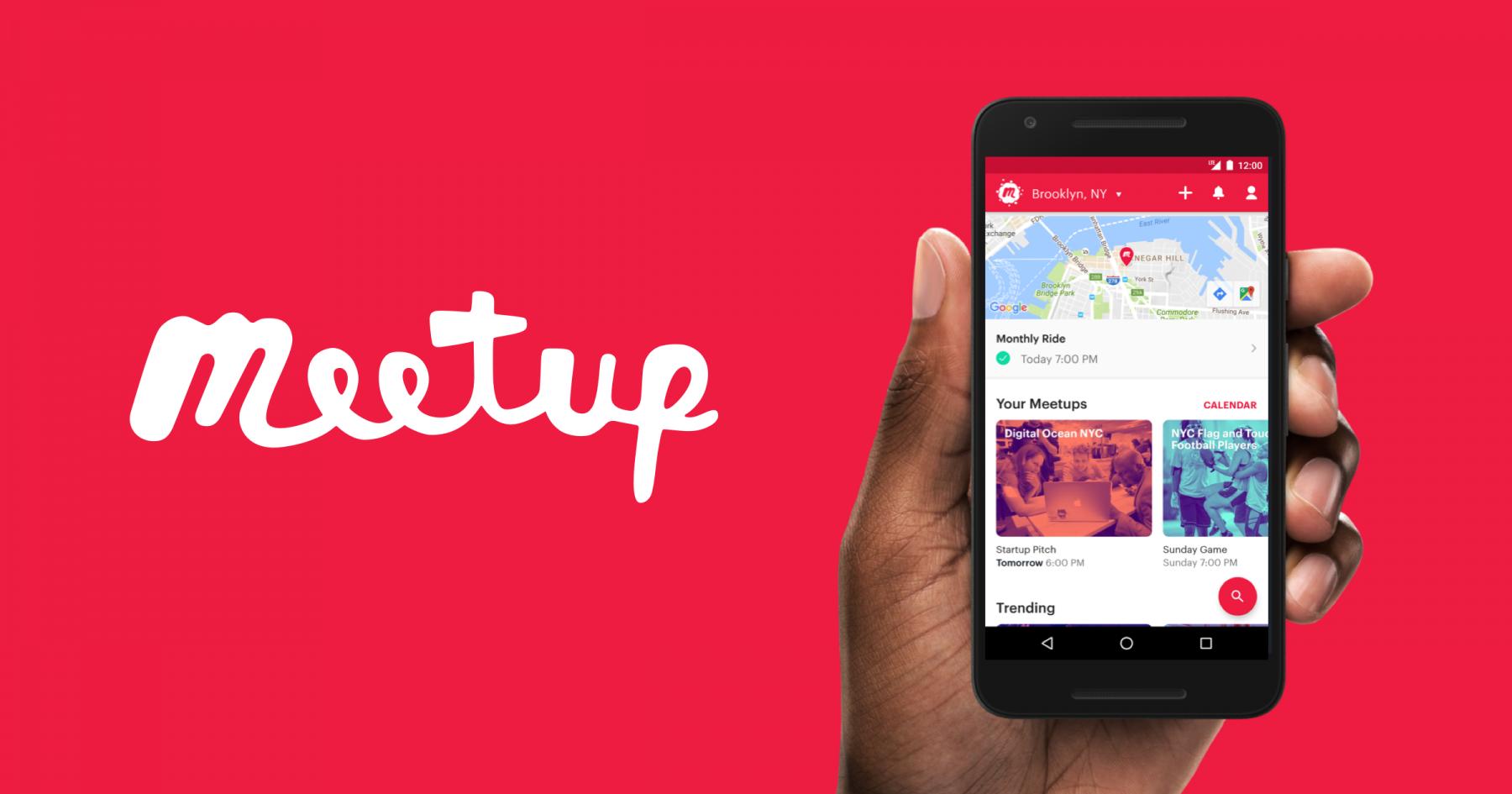 Aplikasi Meetup