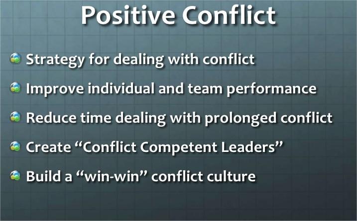 Temukan Hal Positif Dari Konflik