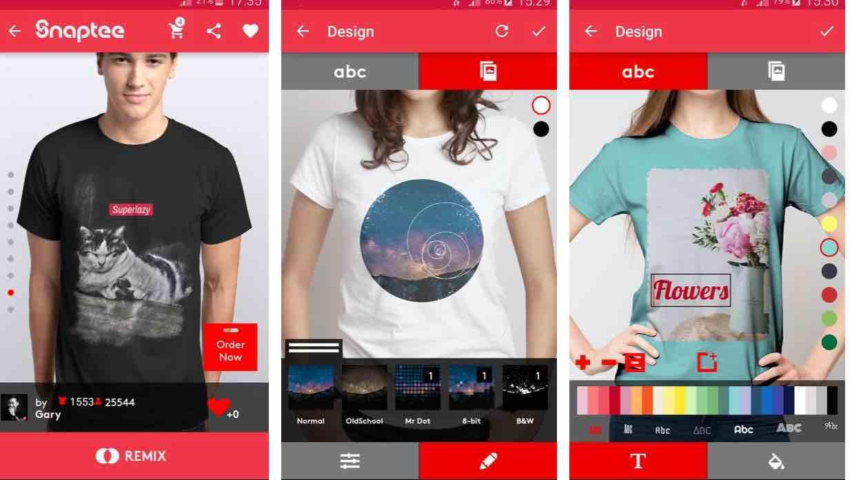 T-Shirt Design – Snaptee