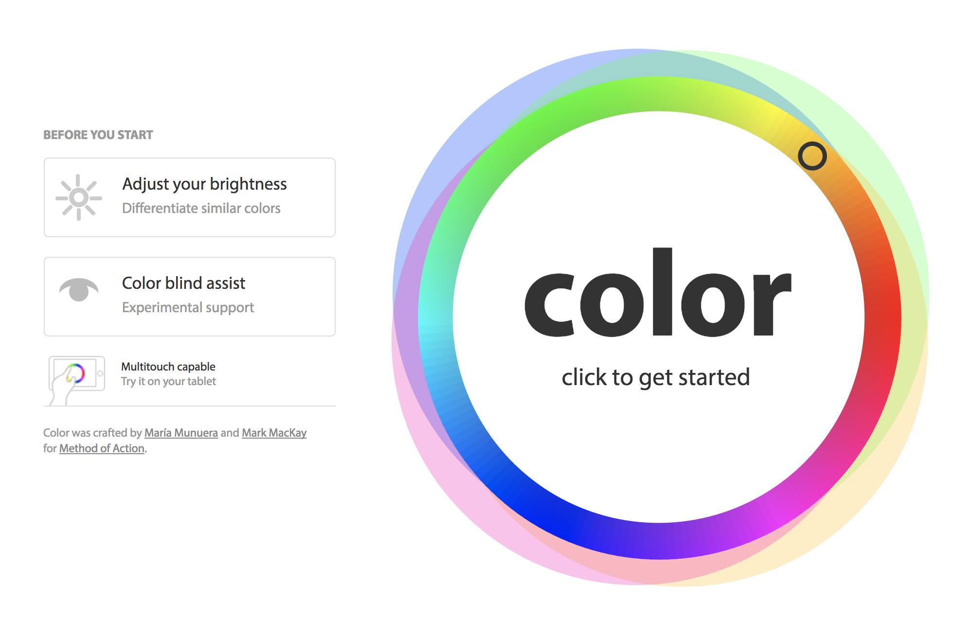 game untuk desainer grafis Color
