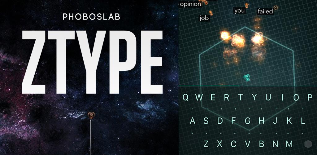 Z-Type Typing Game