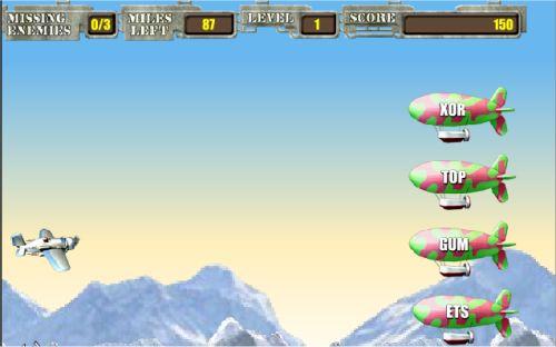 Air Typer Typing Game