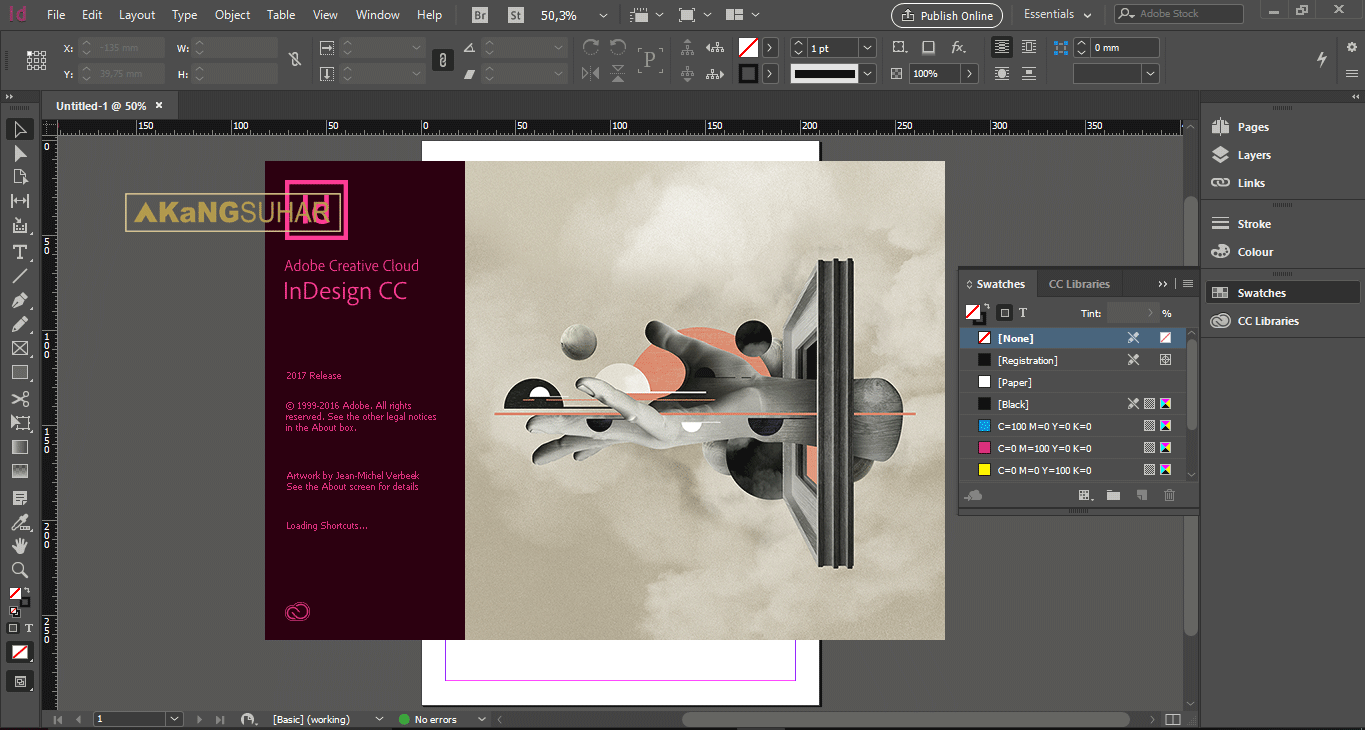 Adobe Indesign Software