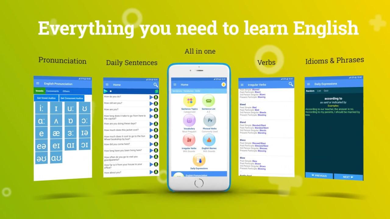 English Listening & Speaking App