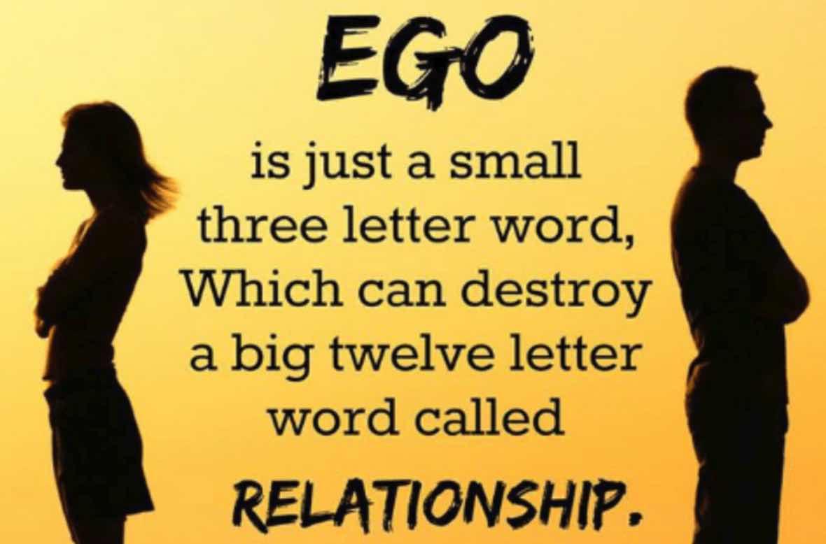Mengandalkan EGO
