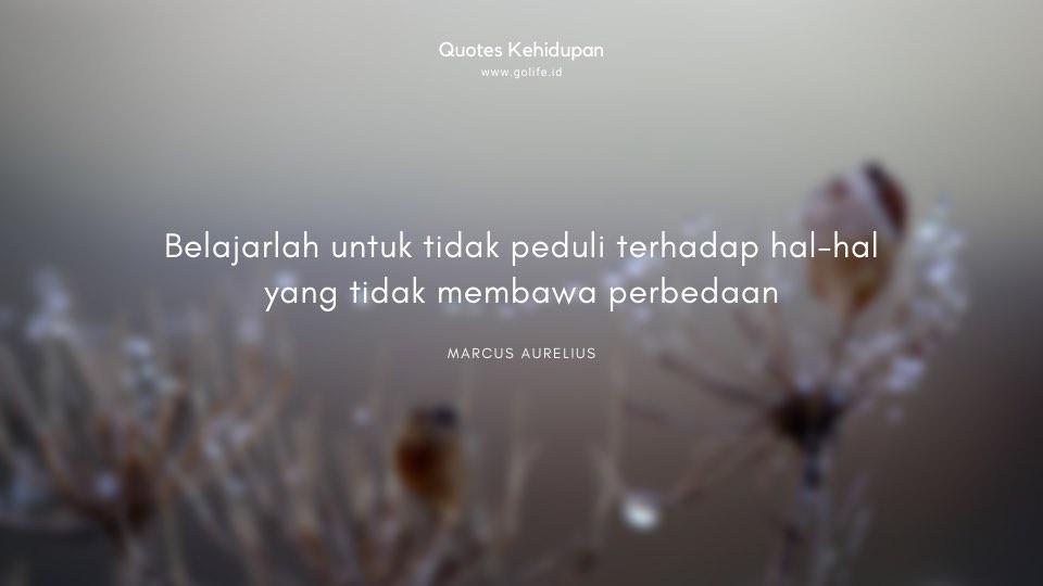 Quote Marcus Aurelius Tentang Bersikap Bodo Amat