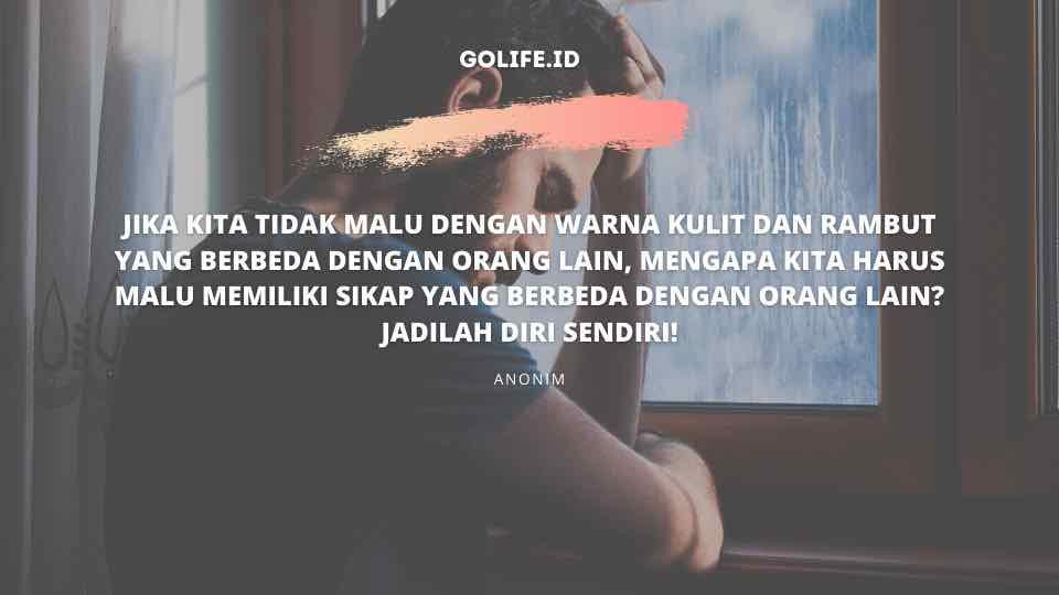 Quote Tentang Menjadi Diri Sendiri