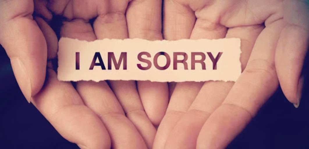 Mengucapkan Maaf
