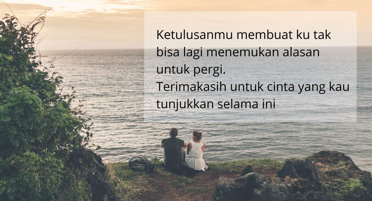 Kata-Kata Romantis Untuk Pacar Tersayang