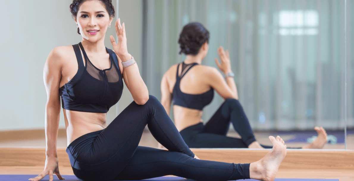 Yoga Membantu Membakar Lemak