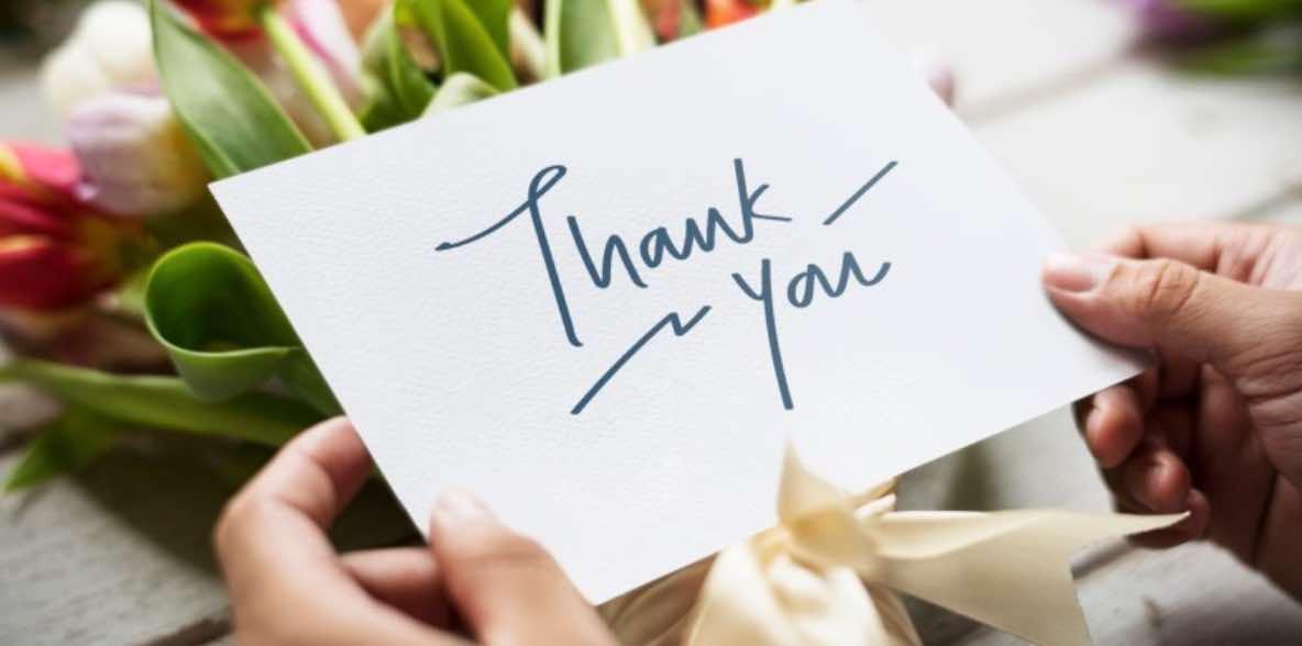 Tips Mengucapkan Terimakasih